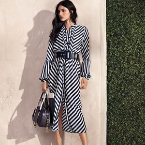 Michael Kors Striped Dress